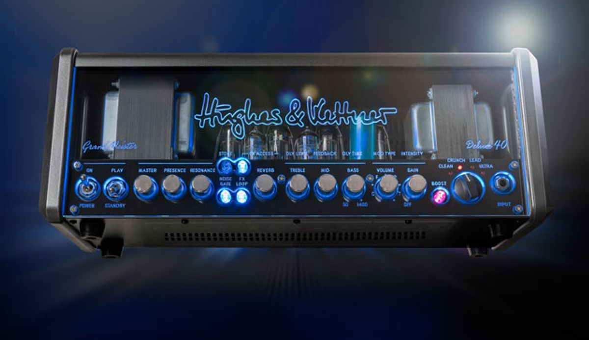 Hughes & Kettner Introduces the GrandMeister Deluxe 40