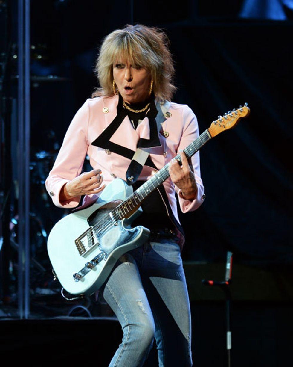 Chrissie Hynde If It Gets Polite Game Over Premier Guitar