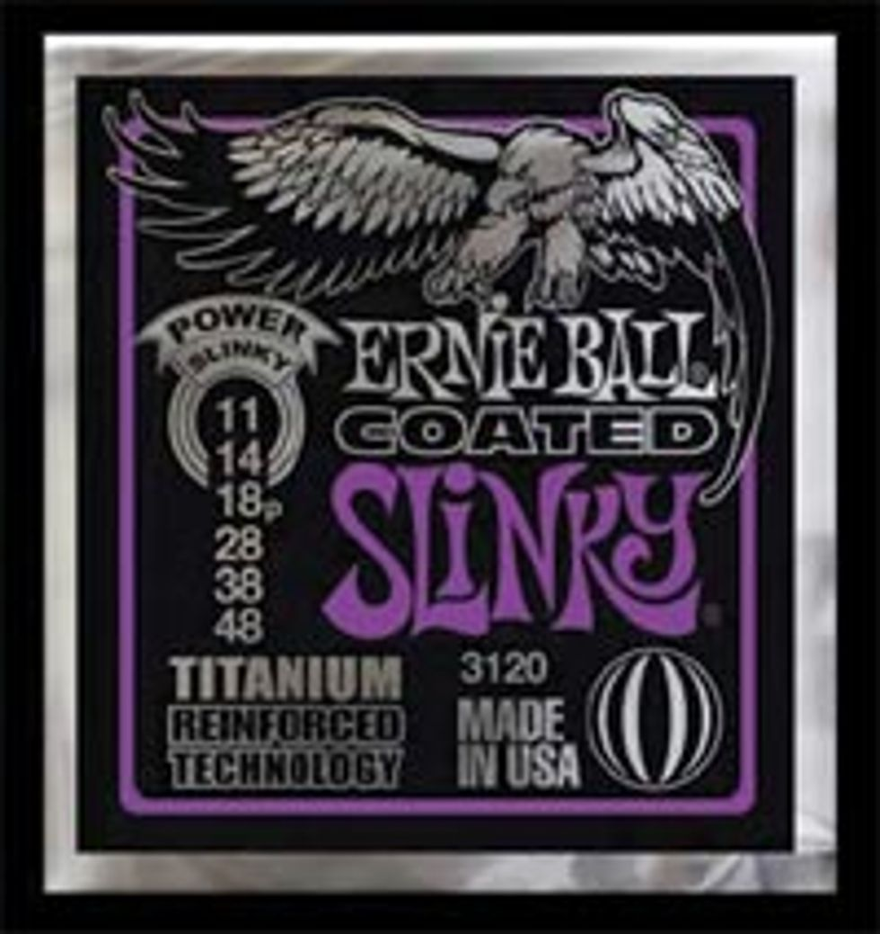 Ernie Ball Titanium Electric Strings