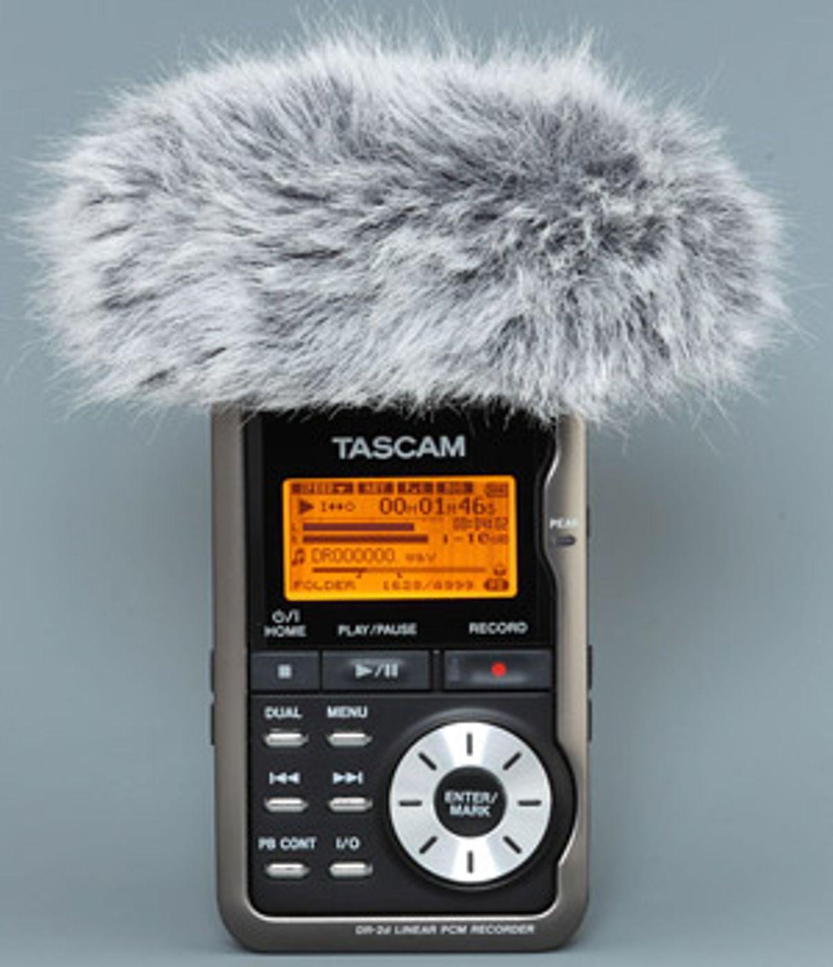 Tascam Releases Digital Recorder Accessories