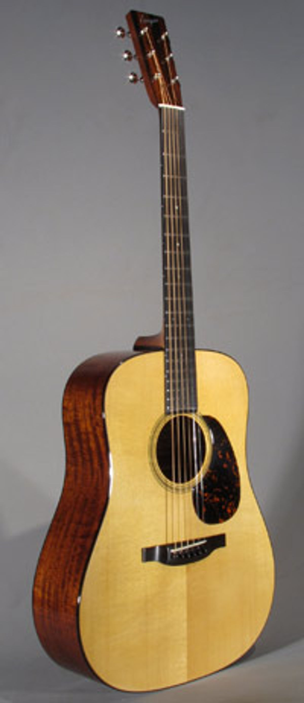 Bourgeois Introduces Very Vintage Mahogany Acoustic