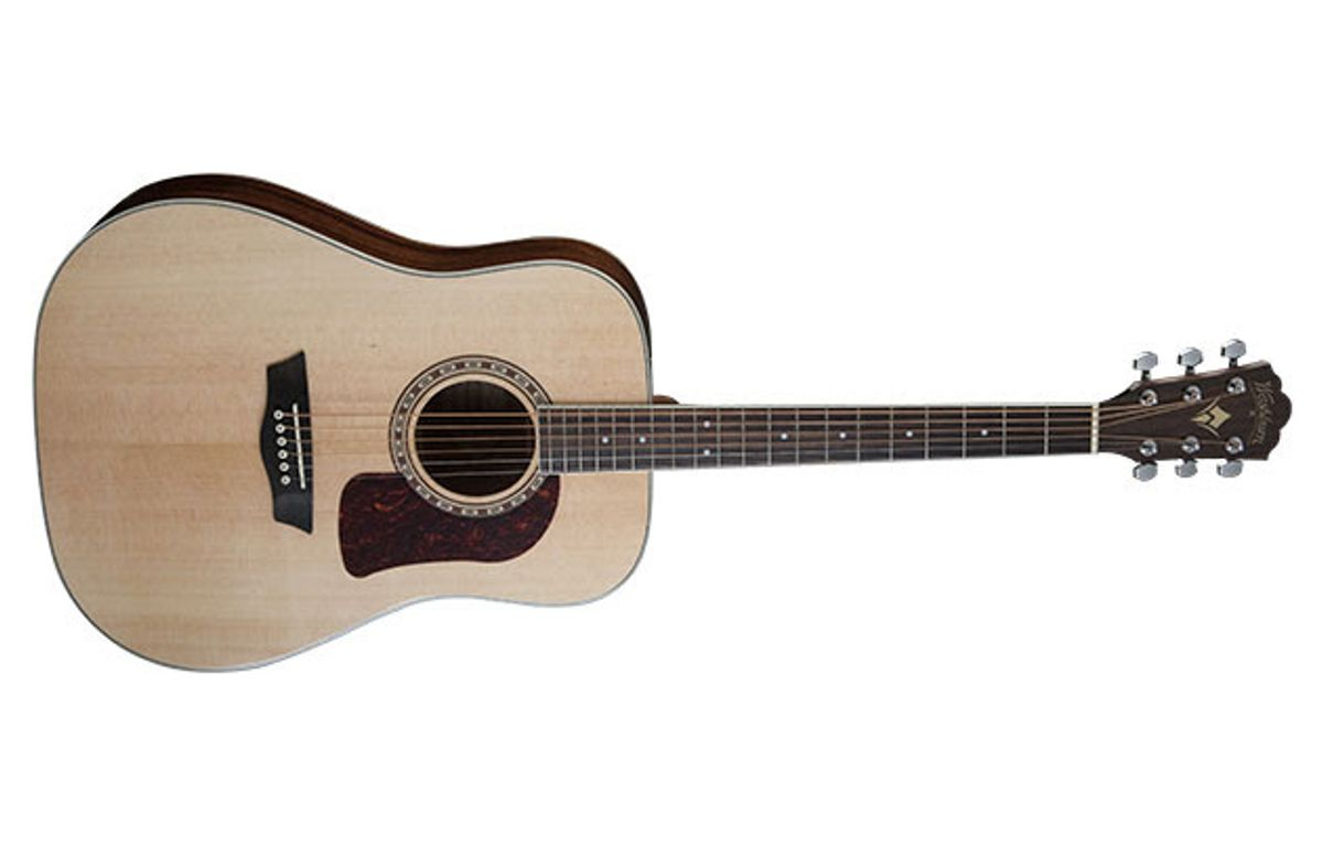 Washburn Introduces the Heritage Series of Acoustic Guitars