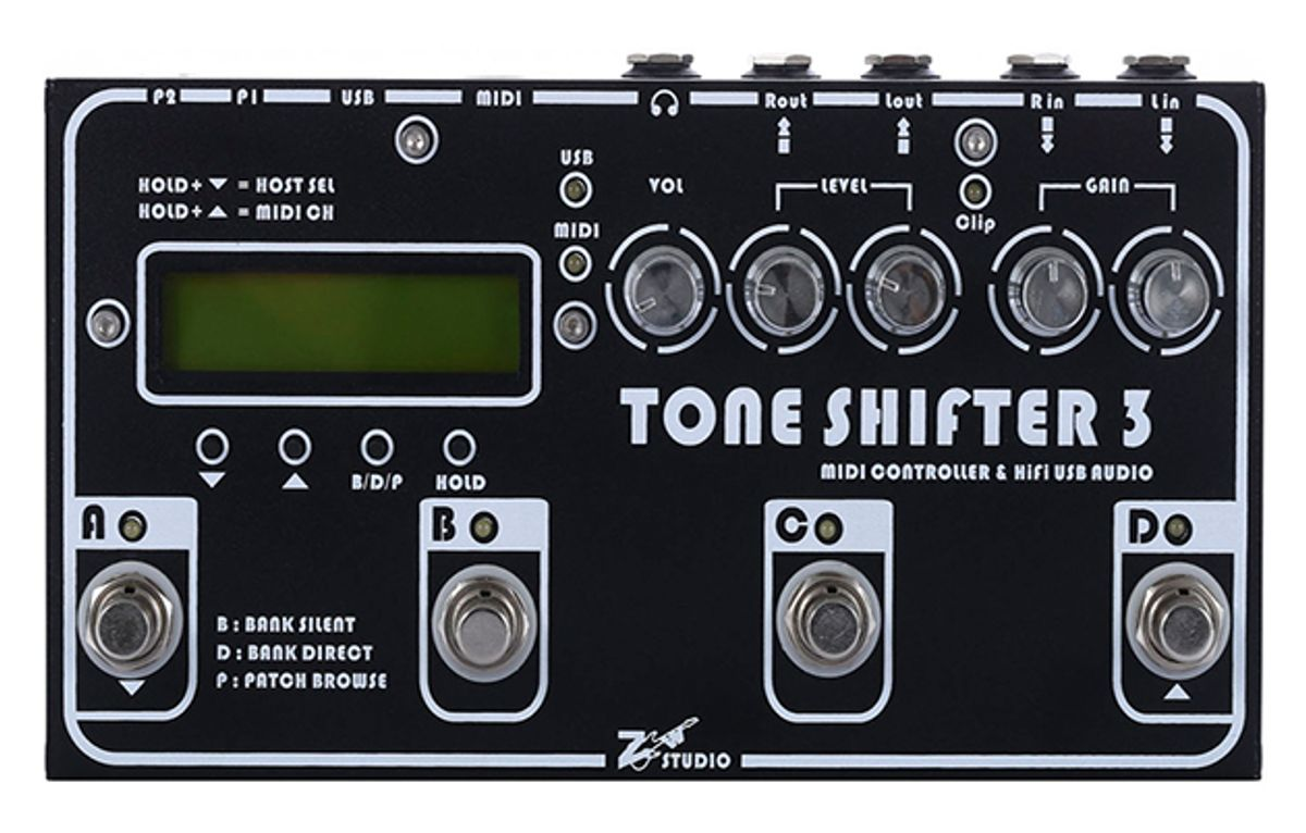 Tone Shifter Announces the Tone Shifter 3 Interface