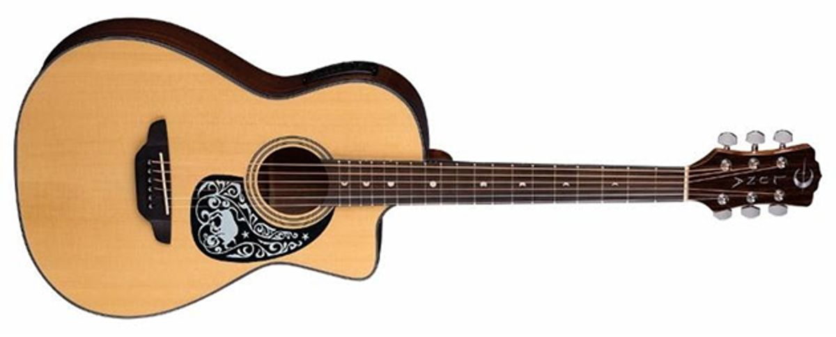 Luna Guitars Announces Gypsy Zodiac Acoustic Guitar Series