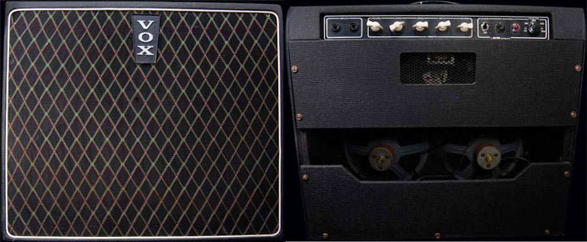 "Circa 1963 Vox ""Mystery Amp"""