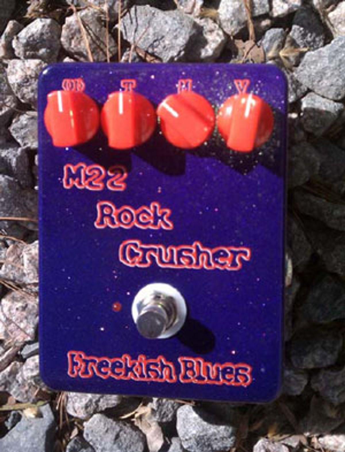 Freekish Blues Announces M22 Rock Crusher and Thaddeus Hogarth Signature Alpha Drive