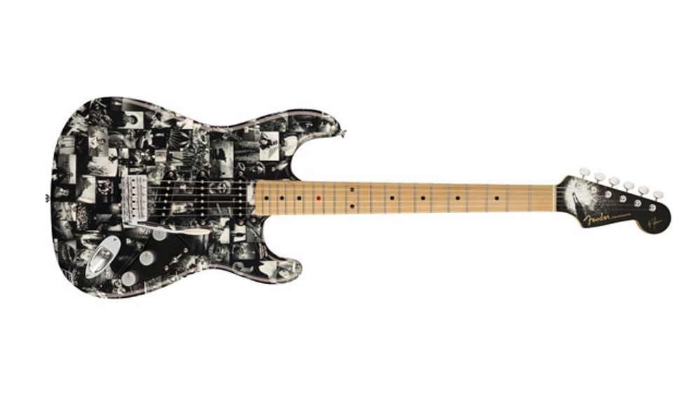 Fender and Andy Summers Collaborate on Monochrome Strat Set