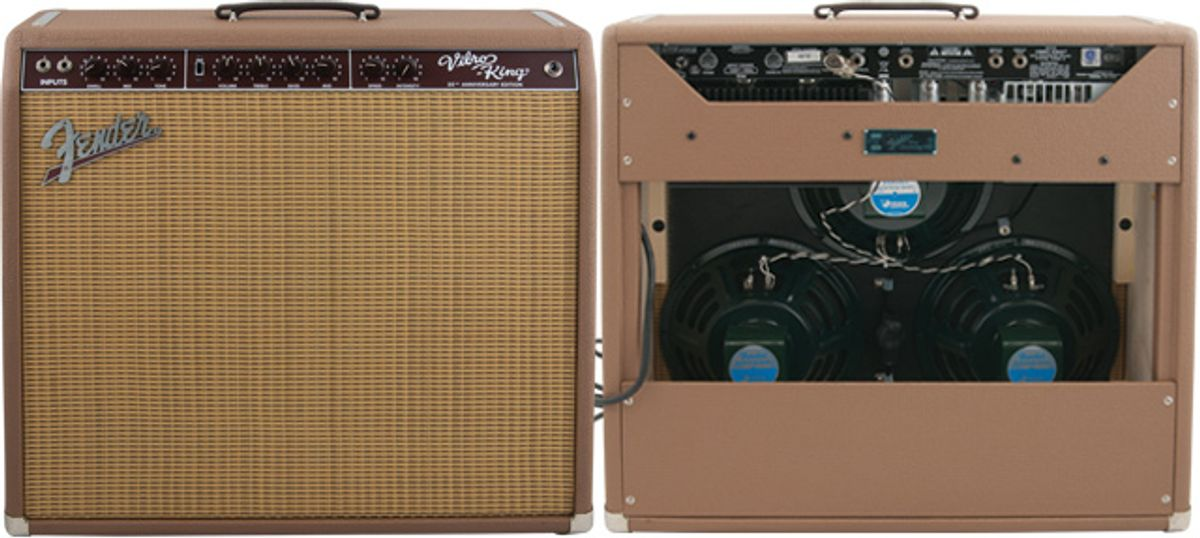 Fender Vibro-King 20th Anniversary Amp Review