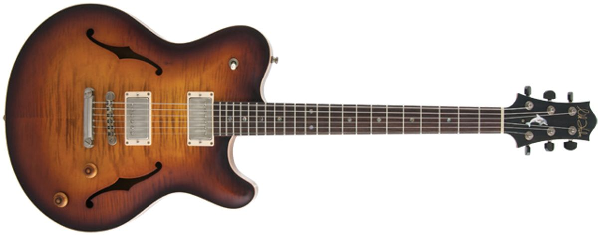 Nik Huber Rietbergen Standard Electric Guitar Review