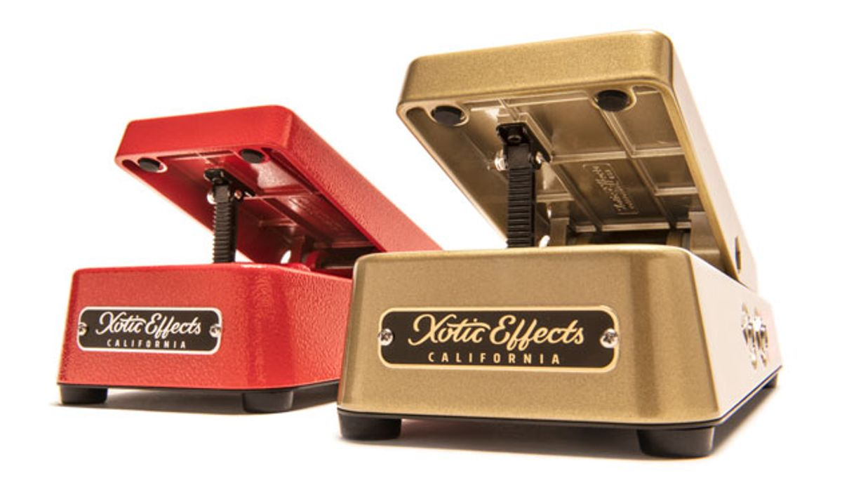 Xotic Effects Announces Line of Volume Pedals