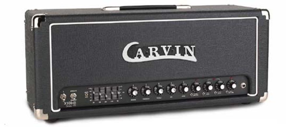 Carvin X-100 B Amplifier and Cabinet