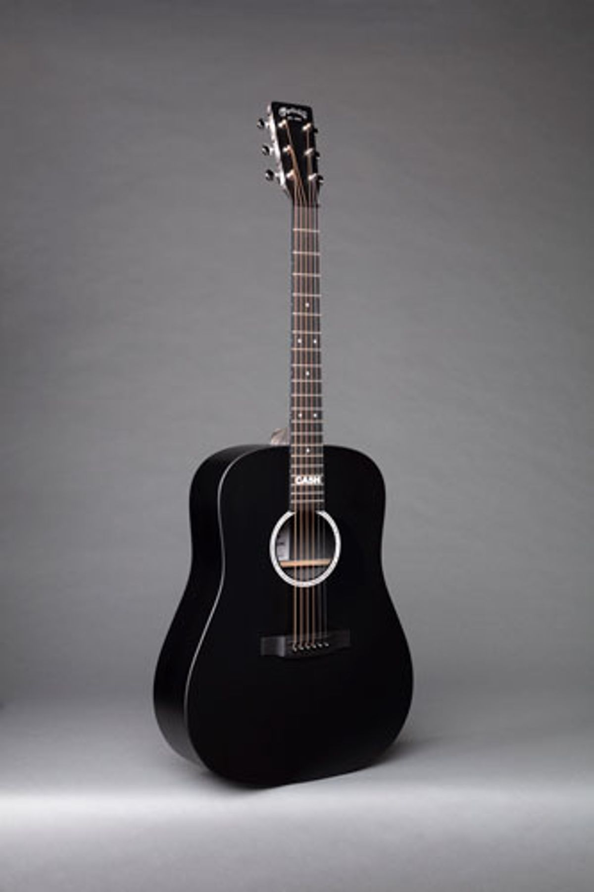 Martin Guitar and the Cash Foundation Introduce the DX Johnny Cash Model