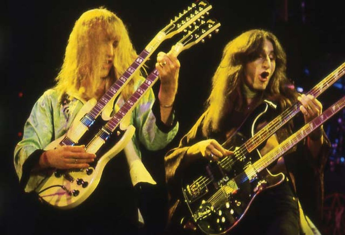 Those Daring Young Men and Their Doubleneck Guitars: A Brief History of Multi-Neck Players