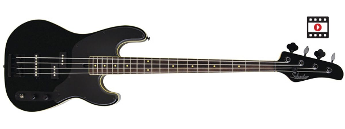 Schecter Diamond Series Michael Anthony Signature Bass Review