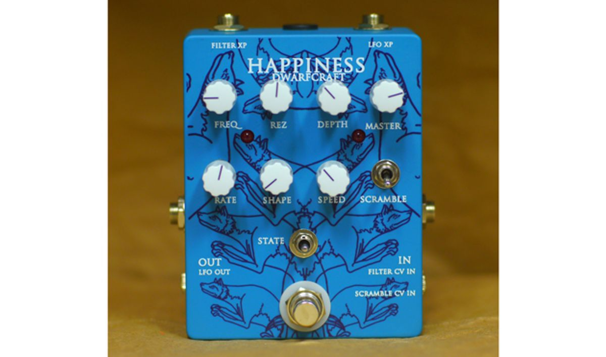 Dwarfcraft Unveils the Happiness Multi-Mode Filter and LFO