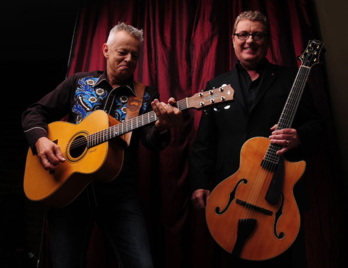 Interview: Martin Taylor and Tommy Emmanuel: Duo de Swing