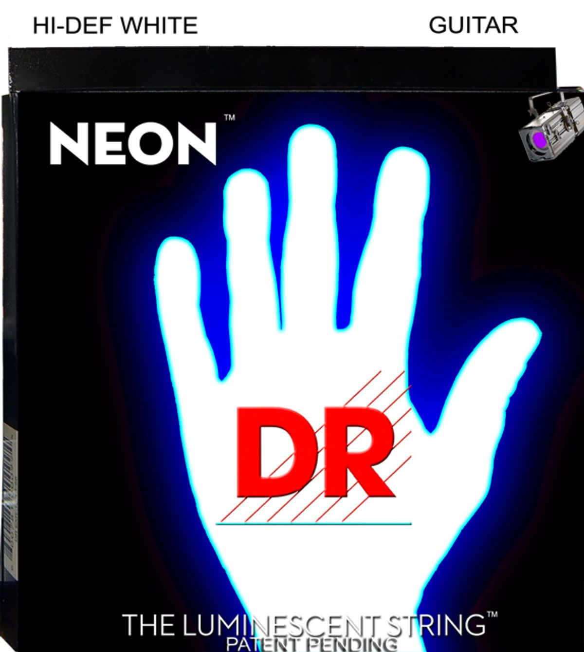 DR Strings Announces NEON Hi-Def White Luminescent Strings