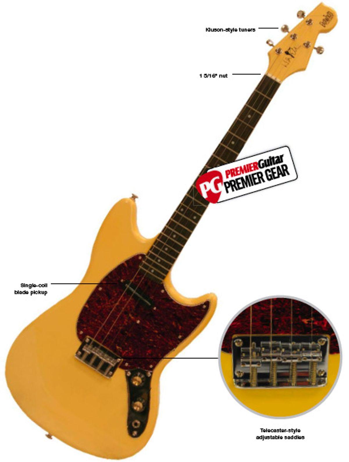 Eastwood Guitars Warren Ellis Signature Tenor Guitar Review