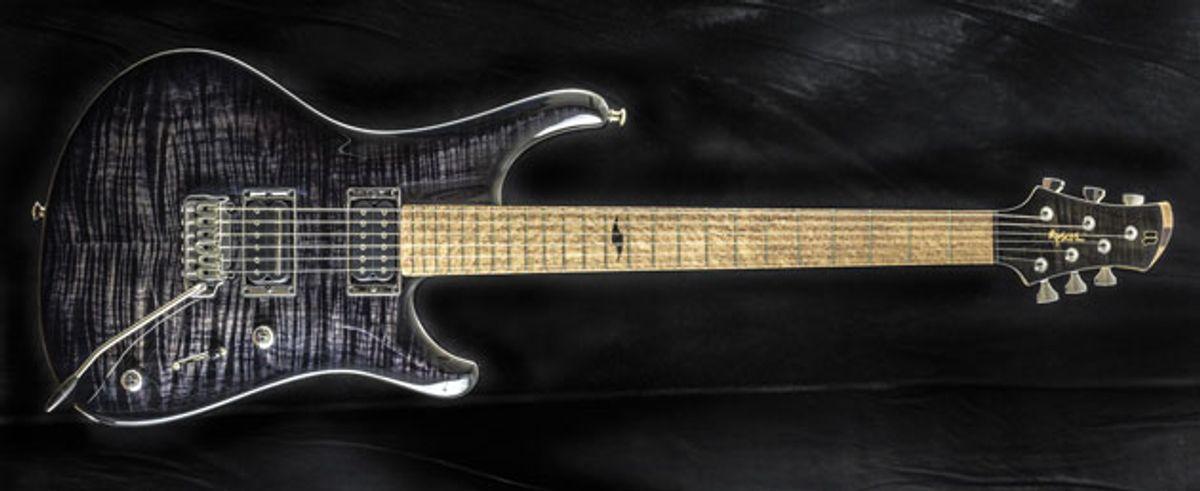 Roscoe Guitars Introduces the LG 322