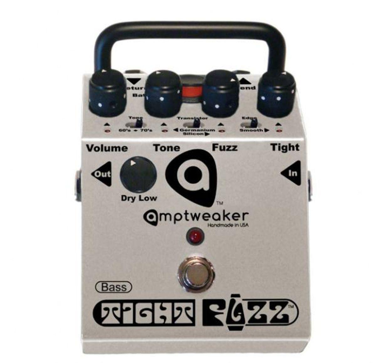 Amptweaker Bass TightFuzz Pedal Review
