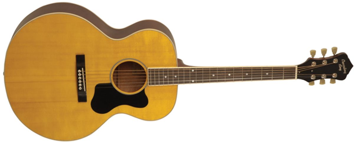 Recording King Introduces the RJJ-116 Acoustic Guitar and 12-Fret Slope Shoulder Guitars