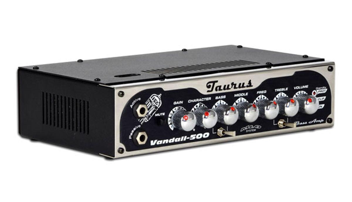 Taurus Amp Announces the Vandall-500