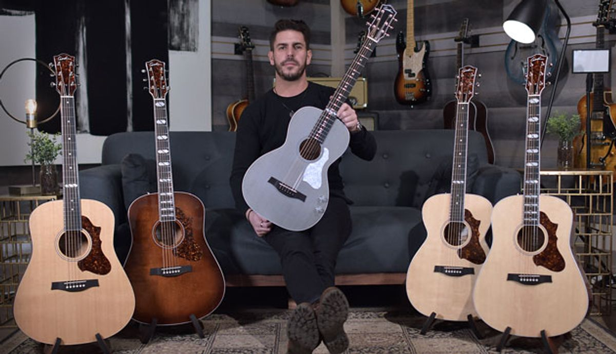 Godin Guitars Launches Debut Line of Acoustic Guitars