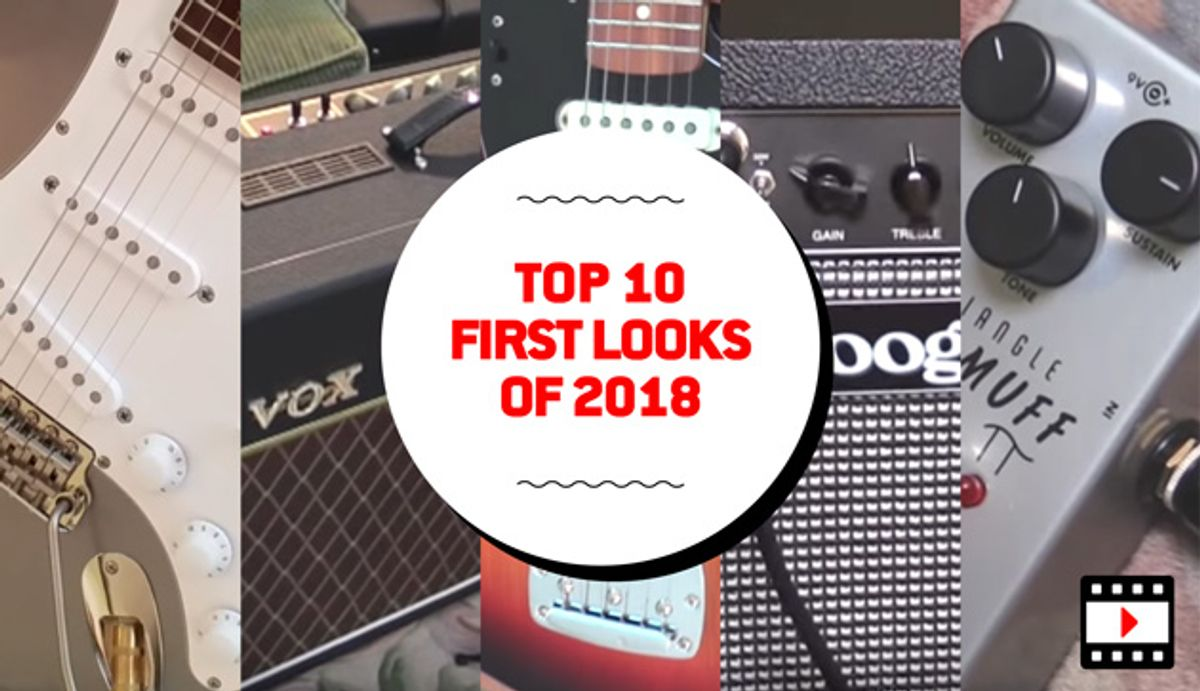 Top 10 First Looks of 2018