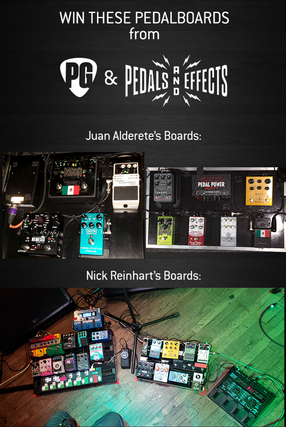 Pedals and Effects