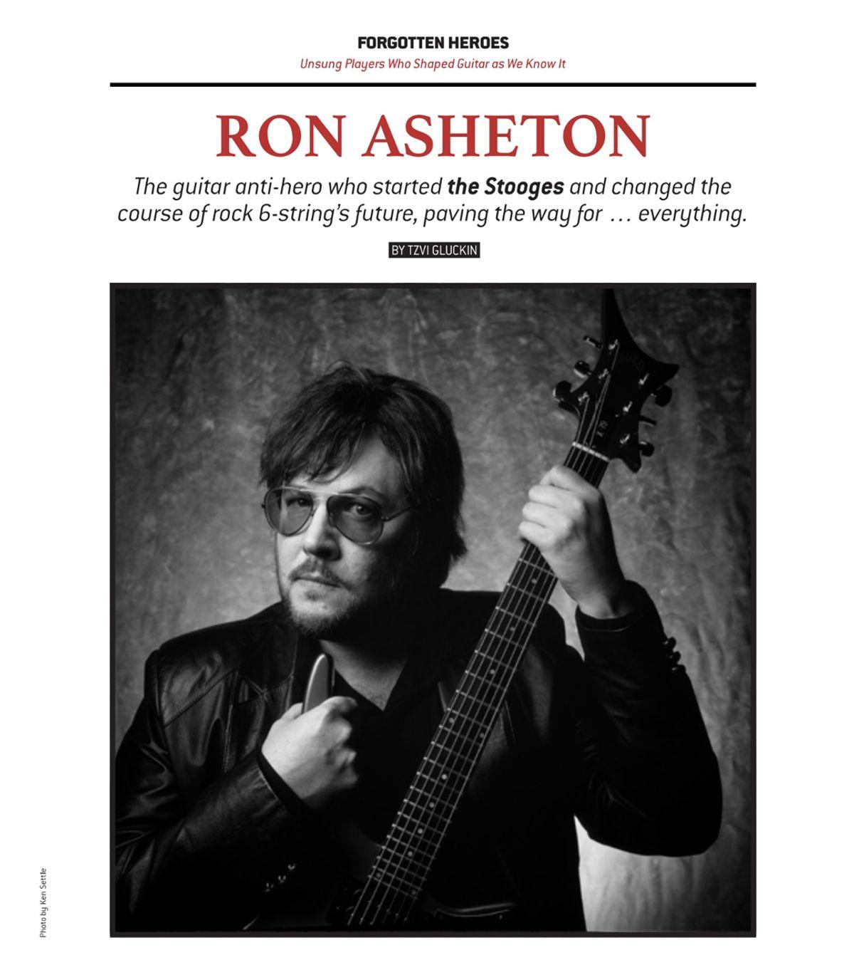 Forgotten Heroes: Ron Asheton