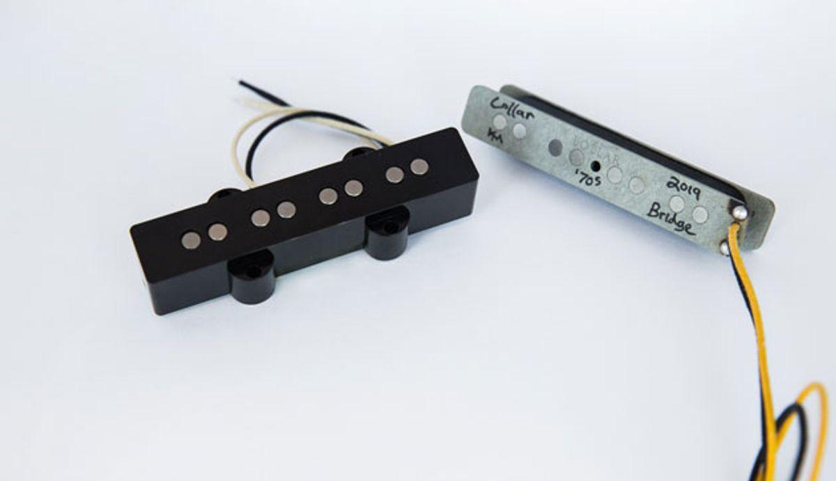 Lollar Announces Release of '70s J-Bass Pickup Set