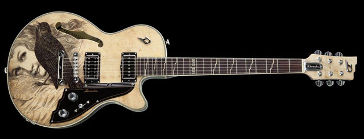 Duesenberg Introduces Dave Stewart Blackbird Signature Guitar