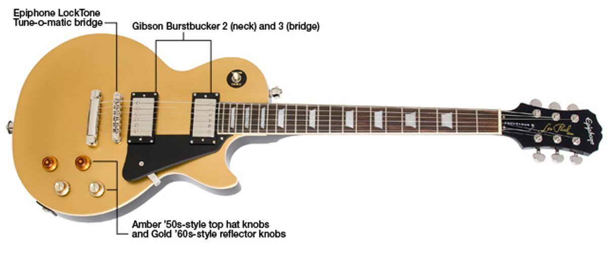 Epiphone Joe Bonamassa Les Paul Goldtop Electric Guitar Review