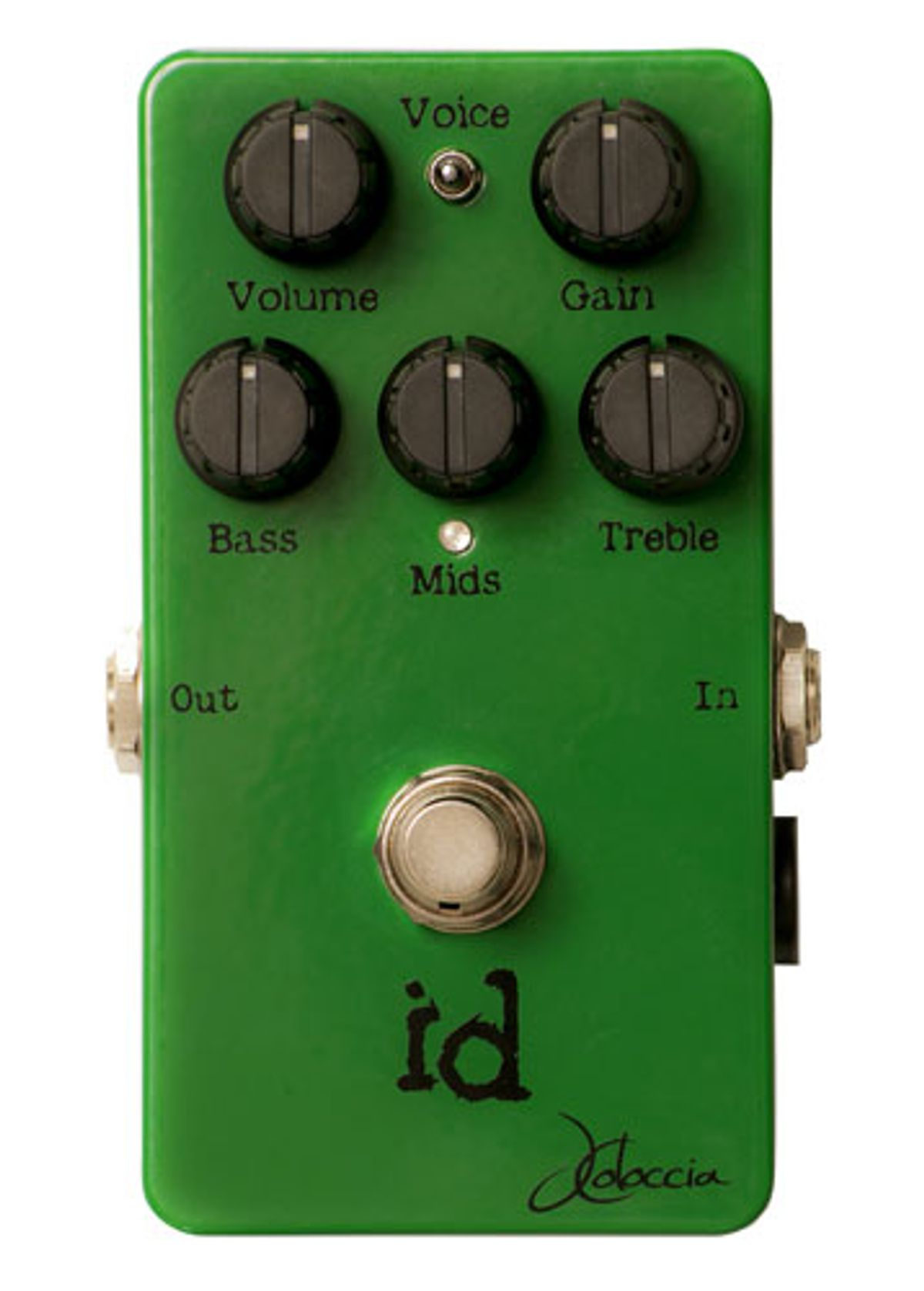 JColoccia Guitars Introduces the id Overdrive