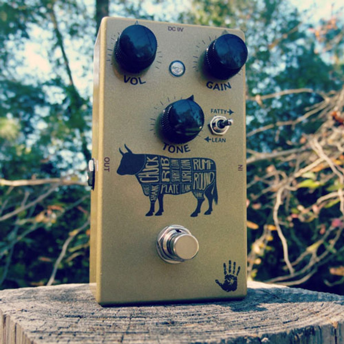 Mojo Hand Fx Introduces the Sacred Cow Overdrive