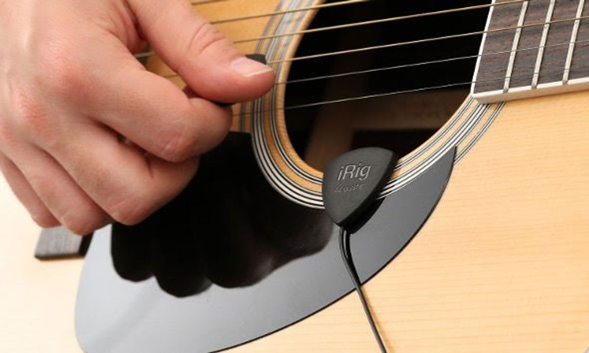 IK Multimedia Introduces the iRig Acoustic