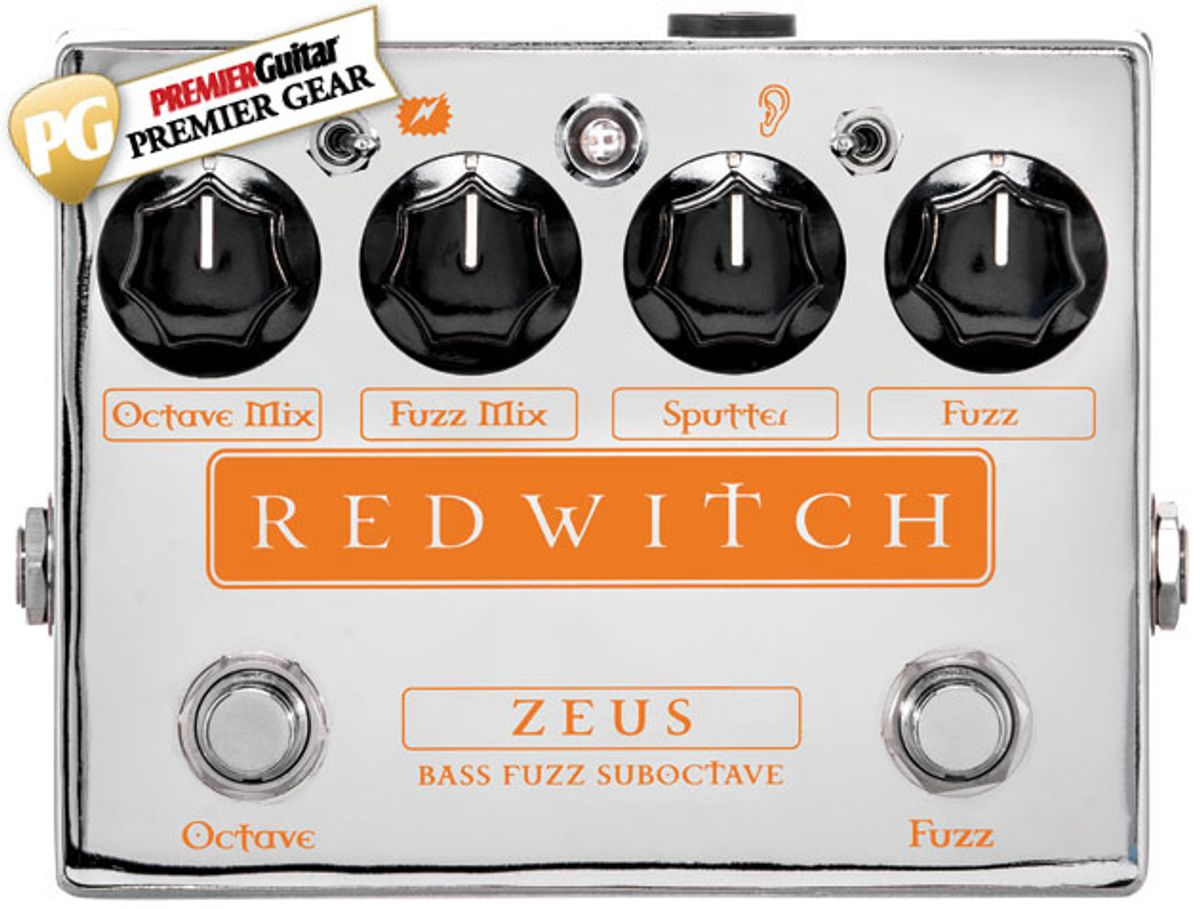 Quick Hit: Red Witch Zeus Bass Fuzz Suboctave Review