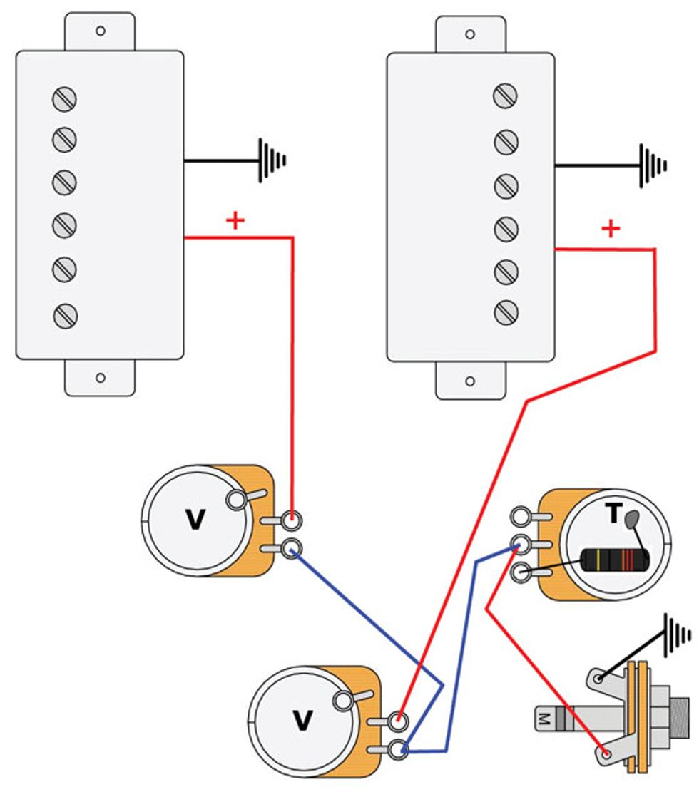 Mod Garage Les Paul Master Wiring 2 Premier Guitarrhpremierguitar: Master Volume One Tone Wiring Diagram At Gmaili.net