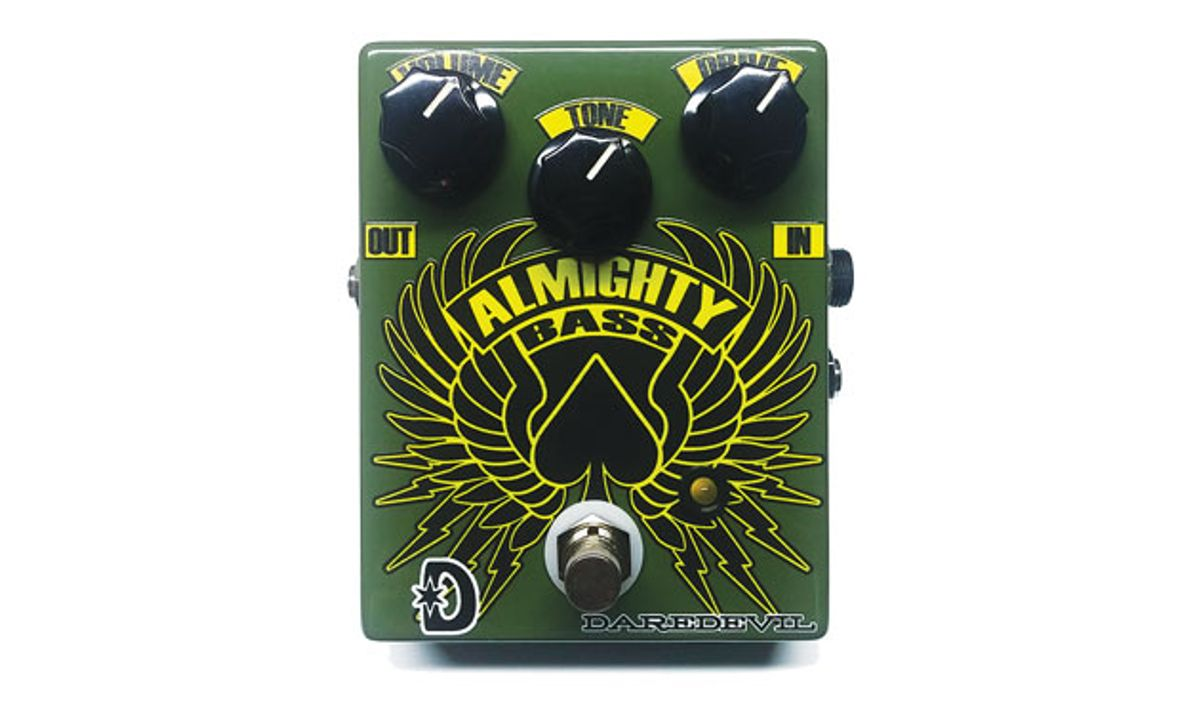 Daredevil Debuts the Almighty Bass Fuzz