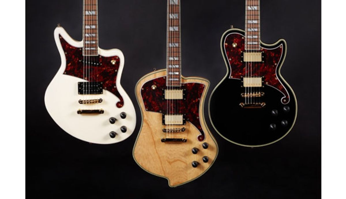 D'Angelico Guitars Launches Solidbody Line