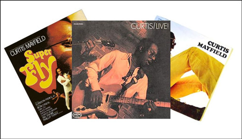 Digging Deeper: Curtis Mayfield | Premier Guitar