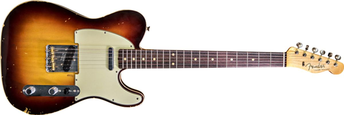 Fender Custom Shop Releases Limited Edition Sheryl Crow Signature Model