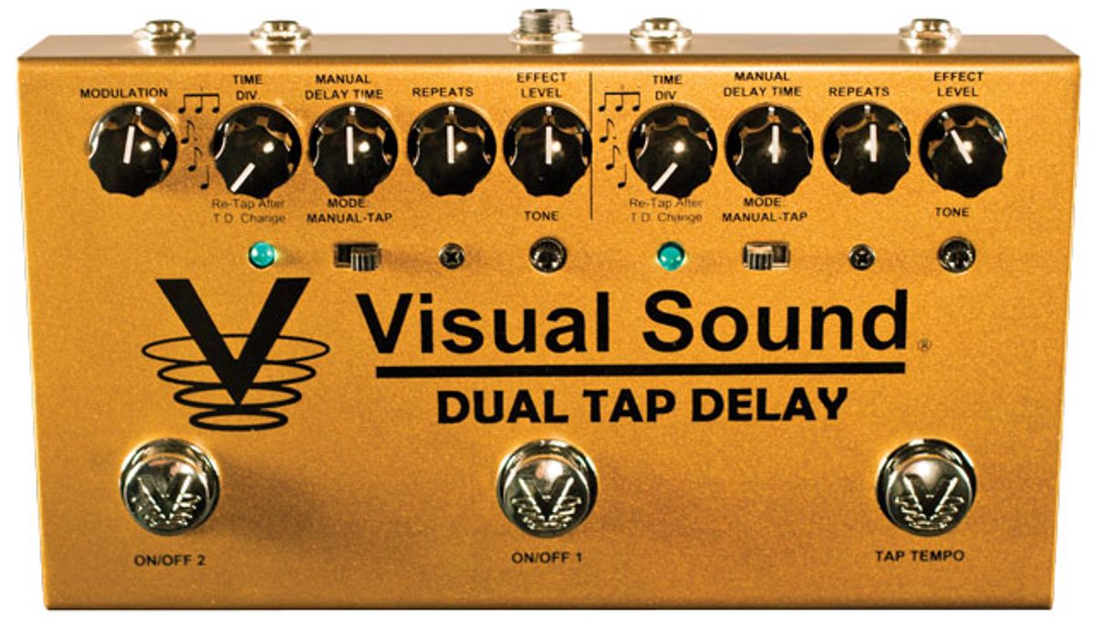 Visual Sound Dual Tap Delay Pedal Review