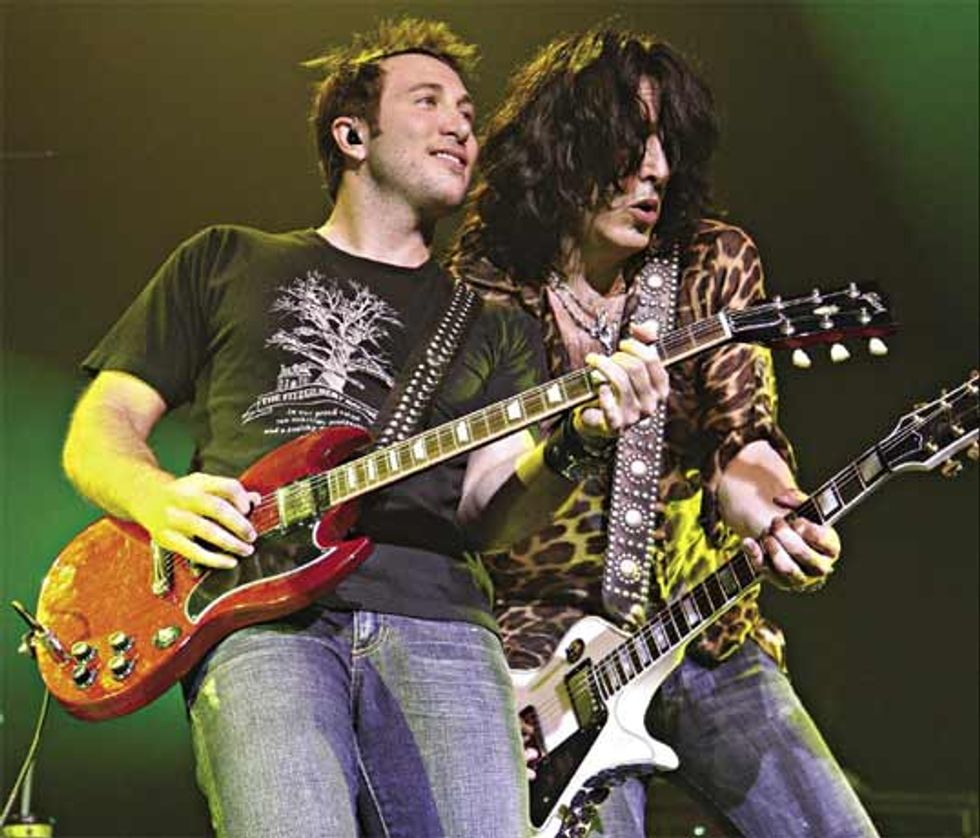Playing with Paul Stanley