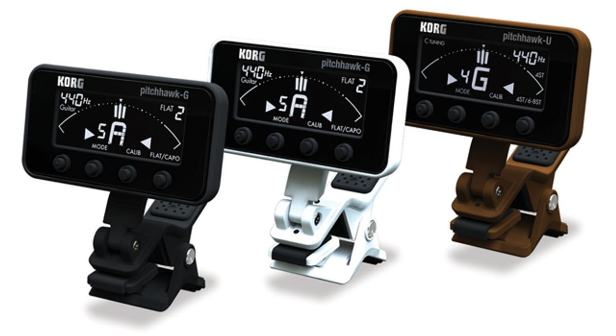 Korg Releases PitchHawk Clip-On Tuner