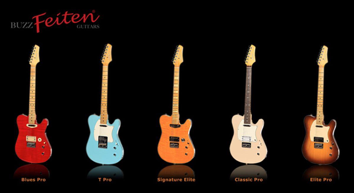Buzz Feiten Announces New Line of Guitars