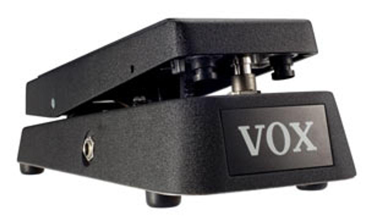 Vox Announces V845 Wah Pedal