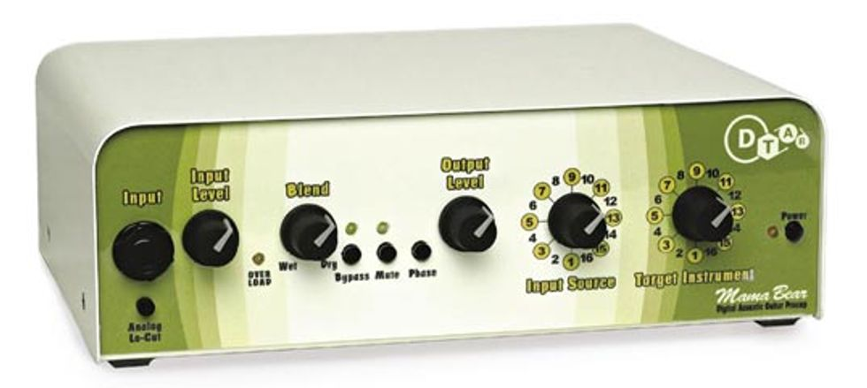 Duncan-Turner Acoustic Research Mama Bear Preamp