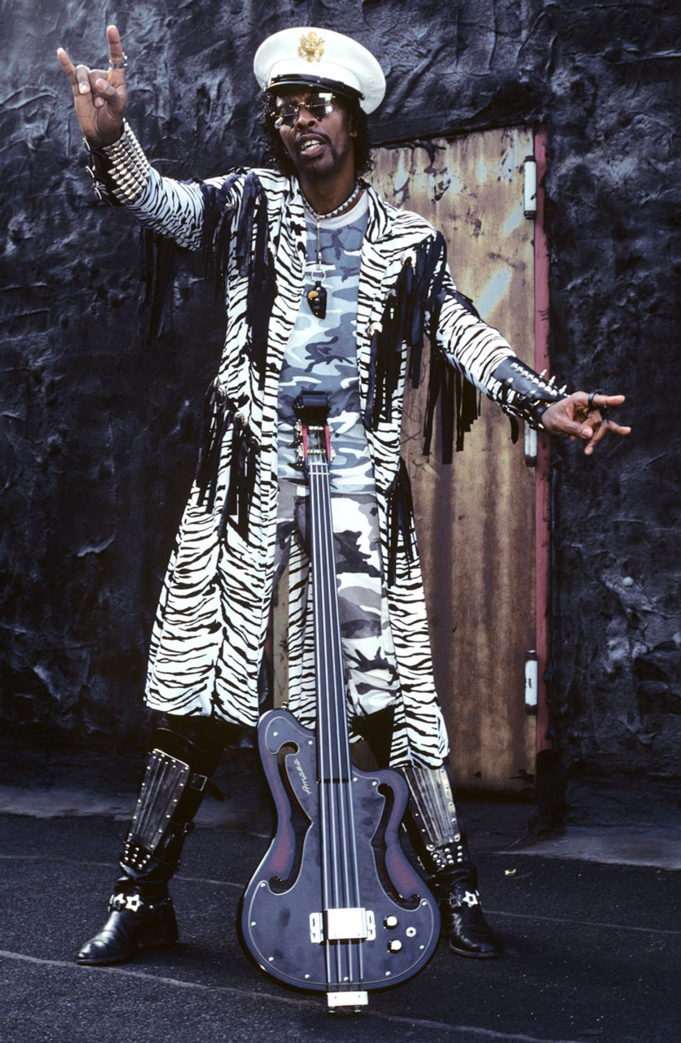 Bootsy Collins Bass from Outer Space