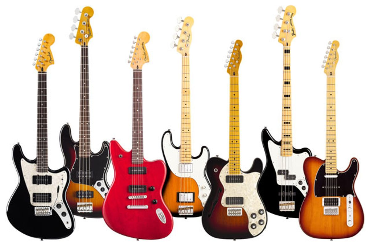 Fender Introduces Modern Player Series Guitars